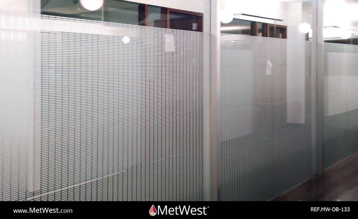 Decorative Glass Film  DB-133 Material:  Digital  Location:   Project:   Client:   Application:  Custom printed film