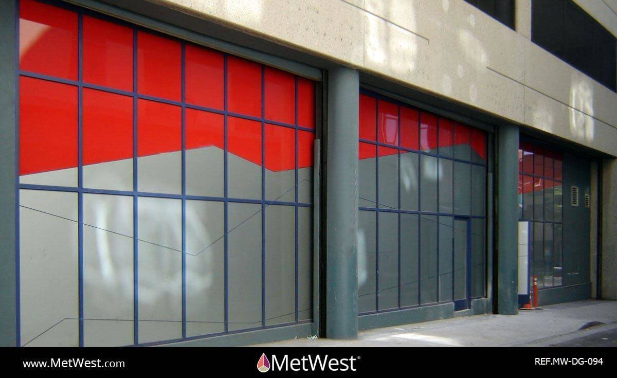 Decorative Glass Film  DG-094 Material:  dusted crystal and vinyl Location:   Project:   Client:   Application:  privacy film graphics for exteriro glass