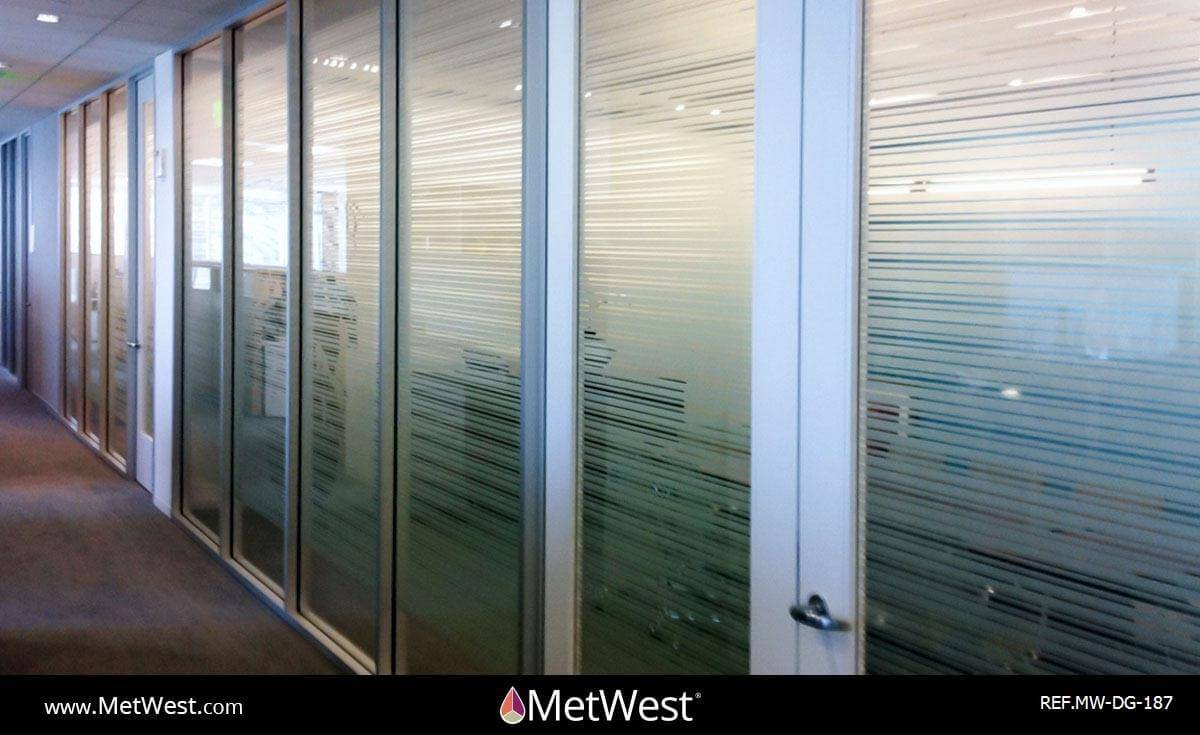 Decorative Glass Film  DG-187 Material:  3m Fasara Arpa Location:  Los Angeles Project:   Client:   Application:  Decorative window film