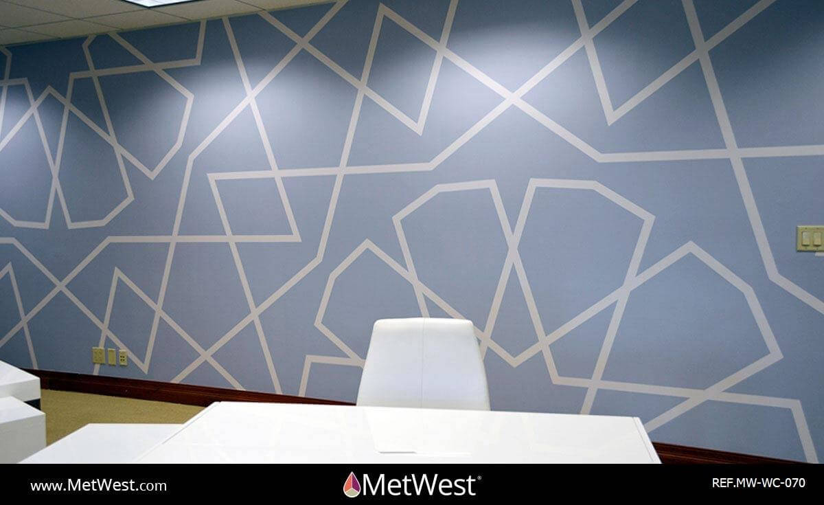 Wall Covering-070 word collage Wallcovering Cut Vinyl
