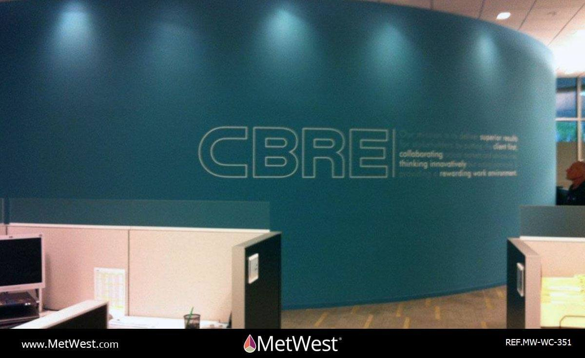 Wall Covering-351 Printed Wallcovering Project: CBRE