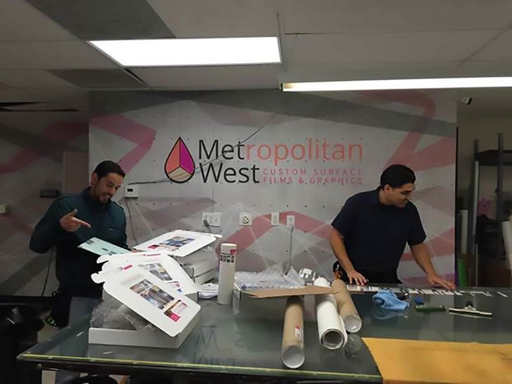 Sending out samples from MetWest