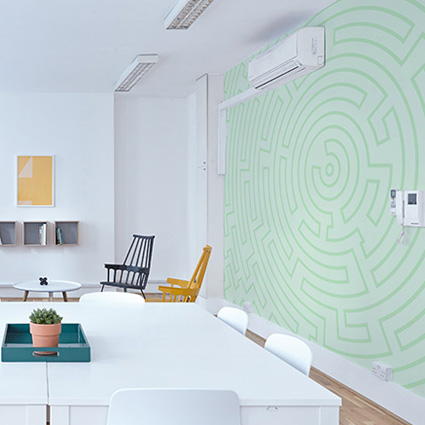 Image showing graphic wall designs