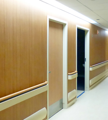 Image of wooden wall covering