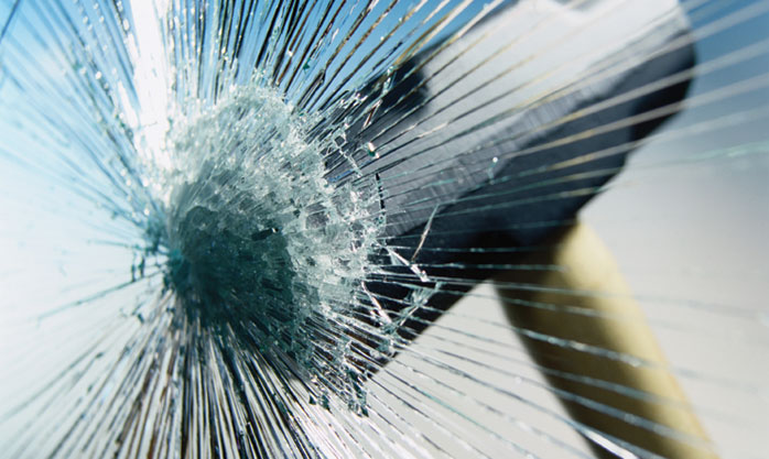 Image of breaking glass
