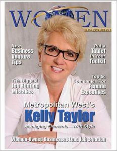 On the cover: corner office: kelly taylor, metropolitan west founder