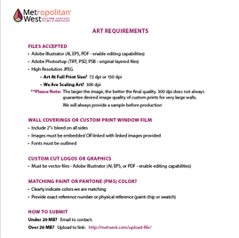 Image showing Art requirements